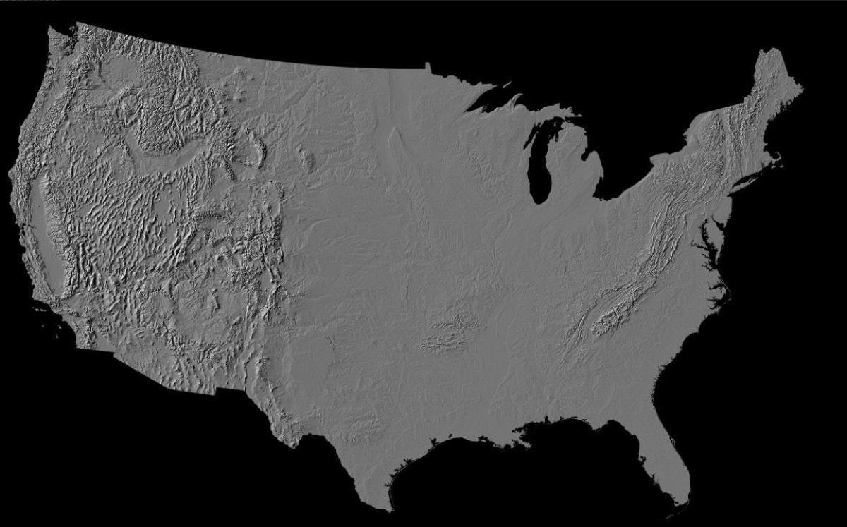 kart terreng OSS terreng kart   OSS kart terreng (Nord Amerika   Amerika) kart terreng